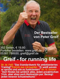 Laufbuch Greif - For Running Life