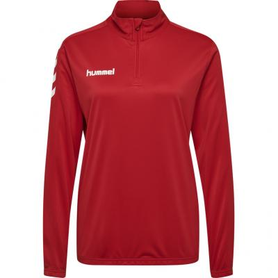 Hummel - Core 1/2 Zip Sweat, Damen