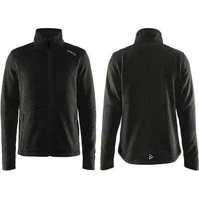 Craft - Casual Zip Fleece Jacket Heavy Knit, Herren