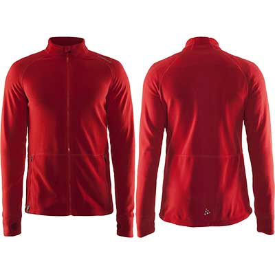 Craft - Full Zip Micro Fleece Jacke