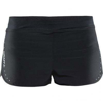 Ansicht von vorn von der Craft Essential 2-inch Short Damen in black