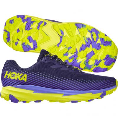 Hoka One One - Torrent 2, Herren - navy/lila/gelb