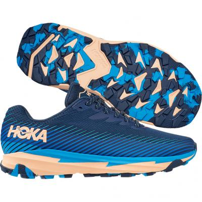 Hoka One One - Torrent 2, Damen - blau/rosa/schwarz
