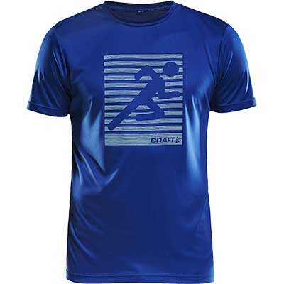 Craft - Eaze SS Graphic Tee, Herren
