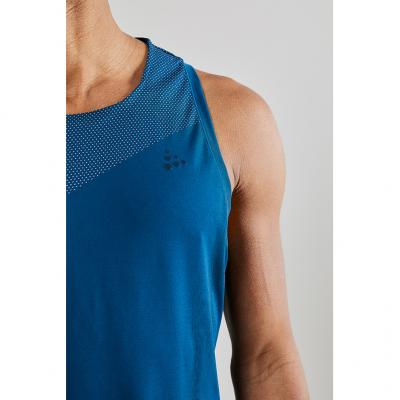 Detail vom Craft Nanoweight Singlet Herren in Farbe nox