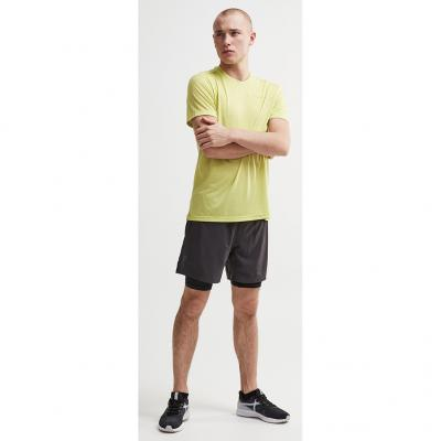Craft Charge SS Tee Herren in Farbe lime-melange