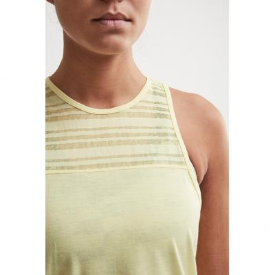 Detail vom Craft Charge Singlet Damen in Farbe rise/melange