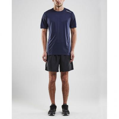 Craft Rush Short Sleeve Tee Herren in der Farbe navy