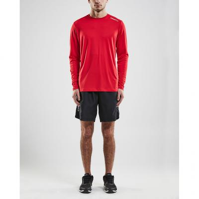 Craft Rush Long Sleeve Tee Herren in der Farbe bright red