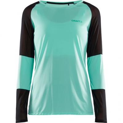 Craft - Eaze LS Net Tee, Damen