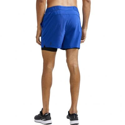 Hinteransicht von der Craft ADV Essence 2-in-1 Stretch Short Herren in der Farbe burst