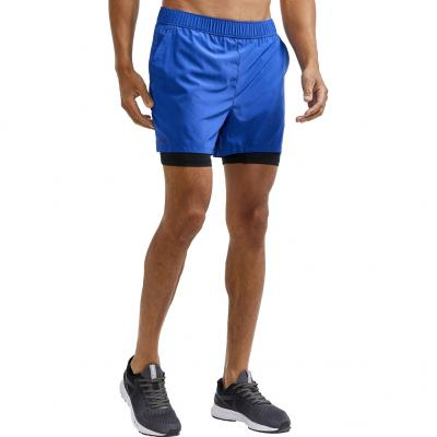 Vorderansicht von der Craft ADV Essence 2-in-1 Stretch Short Herren in der Farbe burst