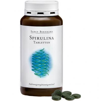 Sanct Bernhard - Spirulina Tabletten