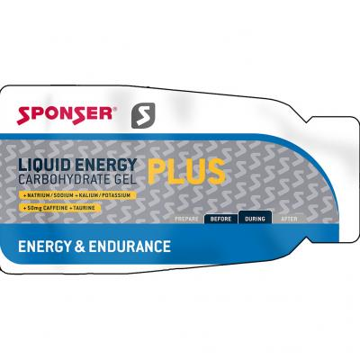 Sponser - Liquid Energy Plus Sachet Koffein