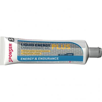 Sponser - Liquid Energy Gel Koffein Tube
