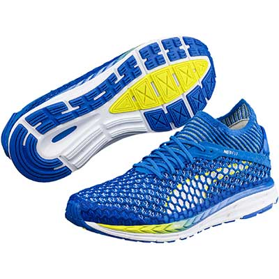 Puma - Speed Ignite Netfit 2, Damen - blau/gelb