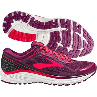 Brooks - Aduro 5, Damen - purple/pink