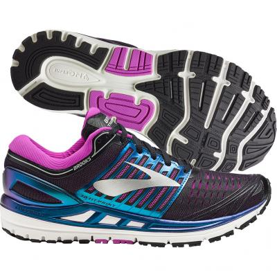 Brooks - Transcend 5, Damen - schwarz/blau