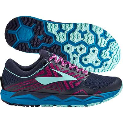 Brooks - Caldera 2, Damen - blau/pink