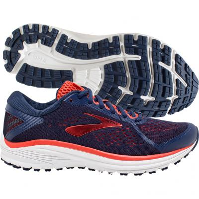 Brooks - Aduro 6, Damen - navy/rot