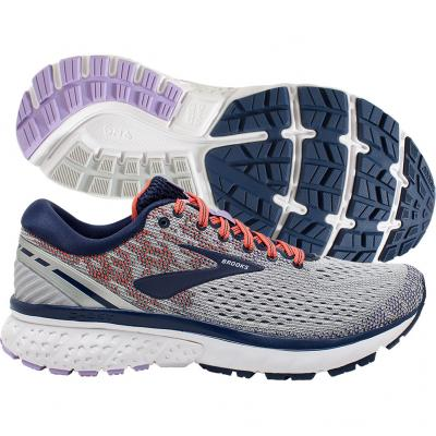 Brooks - Ghost 11, Damen - grau/blau