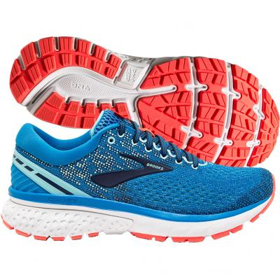 Brooks - Ghost 11, Damen - blau/coral
