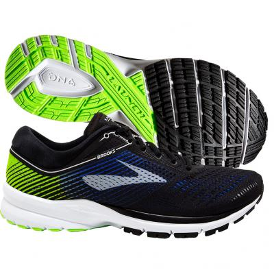 Brooks - Launch 5, Herren - gelb/blau