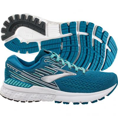 Brooks - Adrenaline GTS 19, Damen - blau/weiss