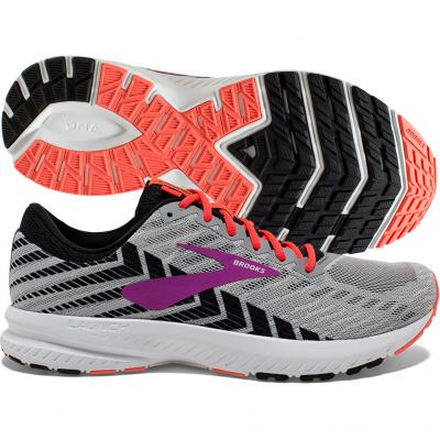 Brooks - Launch 6, Damen - grau/lila