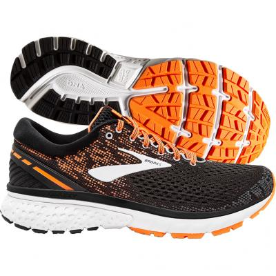 Brooks - Ghost 11, Herren - schwarz/orange