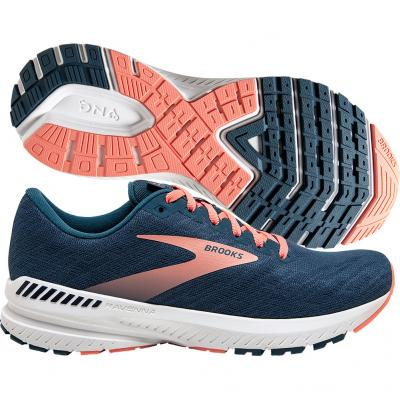 Brooks - Ravenna 11, Damen - navy/rosa/weiß