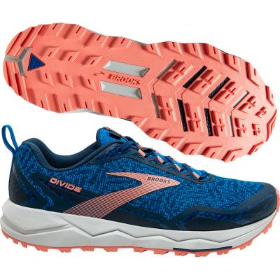 Brooks - Divide, Damen - blau/rosa/weiß