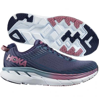 Hoka One One - Clifton 5, Damen - navy/lila