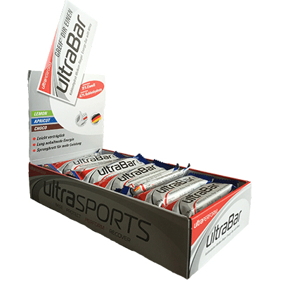 Ultra Sports - Ultra Bar Riegel Box
