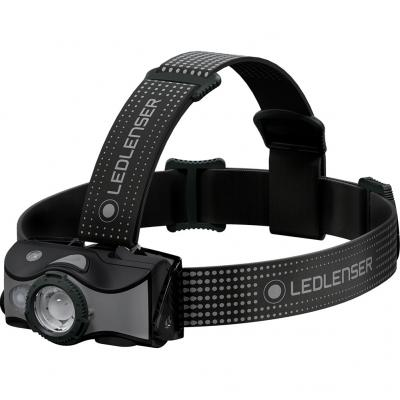 Detail von der LEDLenser Stirnlampe MH7 in black/grey