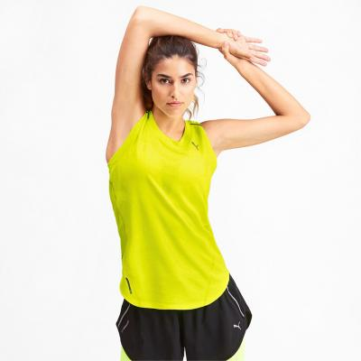 Puma Ignite Tank Damen in der Farbe yellow alert