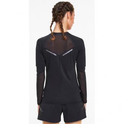 Puma Runner ID Long Sleeve Damen in black