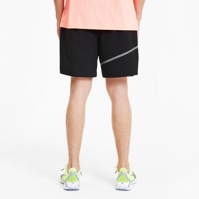 Detail von der Puma Run Woven 7 Short Herren in puma black-nrgy peach