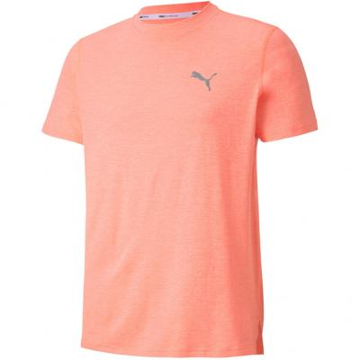 Puma - Run Favorite Heather SS Tee, Herren