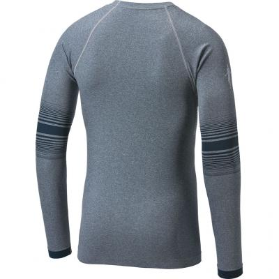 Ansicht von hinten vom Thoni Mara LA-Shirt Breeze Herren in light carbon
