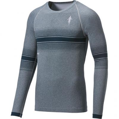 Ansicht von vorn vom Thoni Mara LA-Shirt Breeze Herren in light carbon