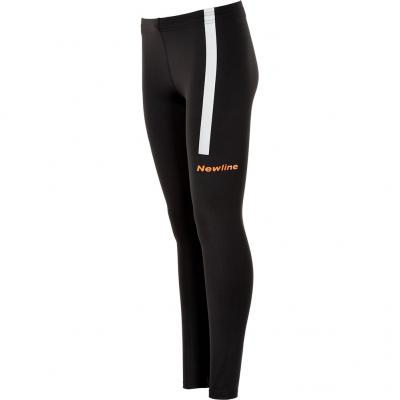 Seitenansicht der Newline Visio Tight Damen in black/neon orange