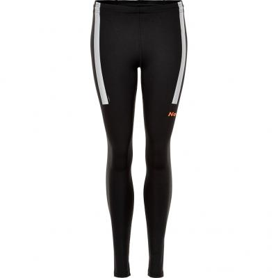 Vorderansicht der Newline Visio Tight Damen in black/neon orange
