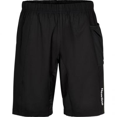 Vorderansicht von der Newline Stretch Short Herren in black