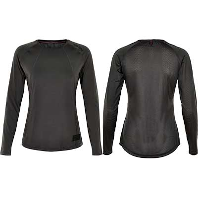 Newline - Black Airflow Shirt, Damen