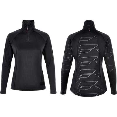 Newline - Black Jumpmaster Warm Shirt, Damen