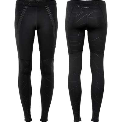 Newline - Black Warm Wiper Tight, Damen