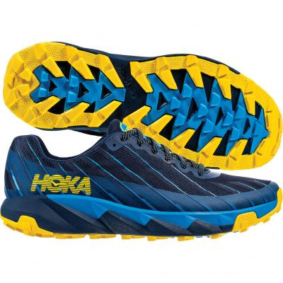 Hoka One One - Torrent, Herren - blau/gelb