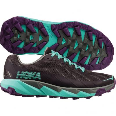 Hoka One One - Torrent, Damen - schwarz/türkis