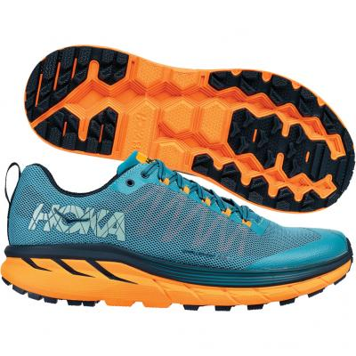 Hoka One One - Challenger ATR4, Herren - blau/orange